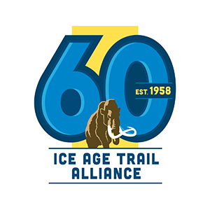 Ice Age Trail Alliance 60 Years Logo