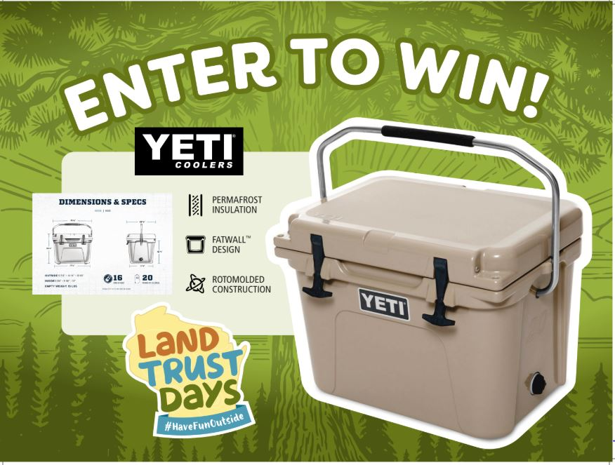 Enter to Win a YETI Cooler Graphic